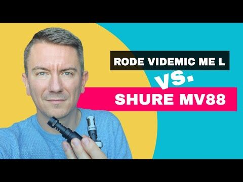 Vergleich: Shure MV88 vs. RODE VideoMic ME L Mikrofon für iPhone - deutsch