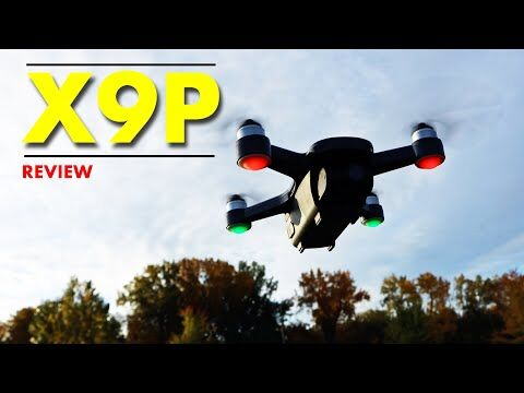 The Upgraded JJRC X9P Drone - Improved Camera - Review