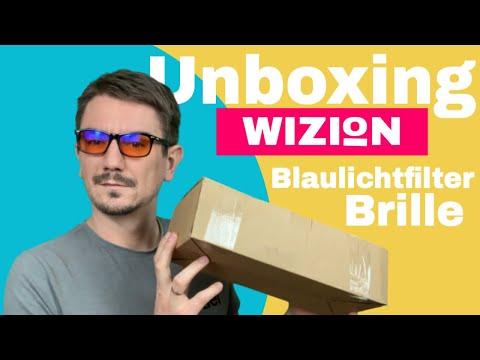 Unboxing Blaulichtfilter Brille von WIZION