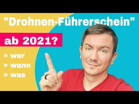 Neue EU Drohnenverordnung 2021 - was ändert sich in Deutschland ggü. der Drohnenverordnung 2020?