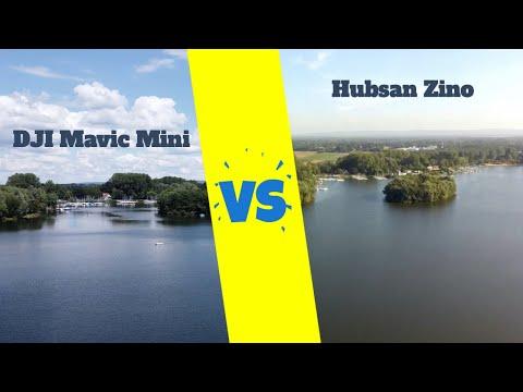 Mavic Mini vs Hubsan Zino Footage Video Vergleich