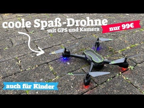 Drohnen Test: ASBWW Drohne mit GPS unter 100 Euro für Anfänger und Kinder