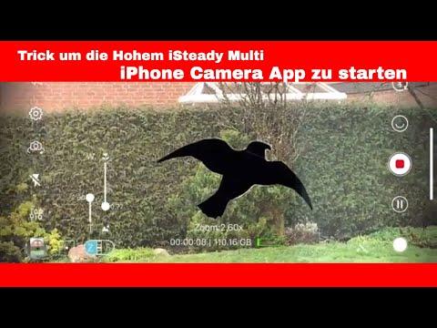 Hohem iSteady Multi iPhone Camera App starten (Trick)