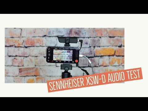 Sennheiser xsw-d Audio Test mit dem RODE SmartLav+ im direkten Vergleich