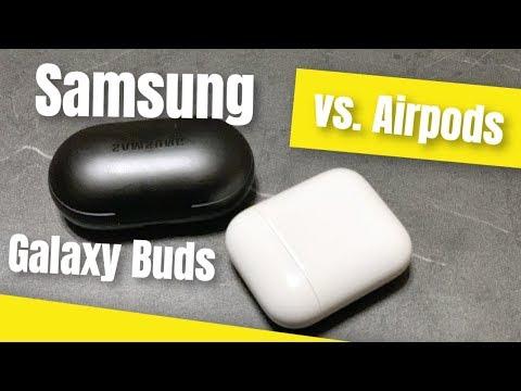 Samsung Galaxy Buds vs Airpods 2 - welche sind besser?