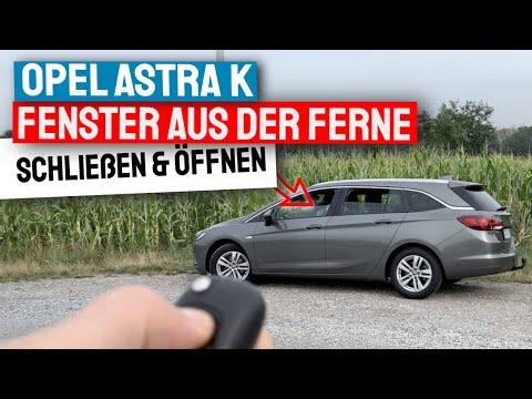 Astra K Fenster mit Fernbedienung bedienen