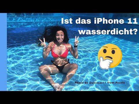 Ist das iPhone 11 oder das iPhone 11 pro max wasserdicht?