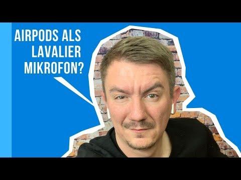 Lassen sich die Airpods als Mikrofon nutzen?