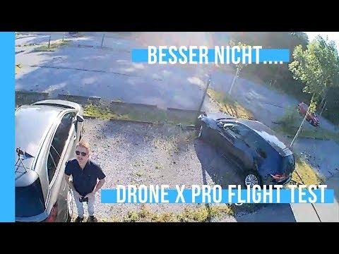 DroneX Pro deutsch - Kamera, Flugeigenschaften, Stabilität