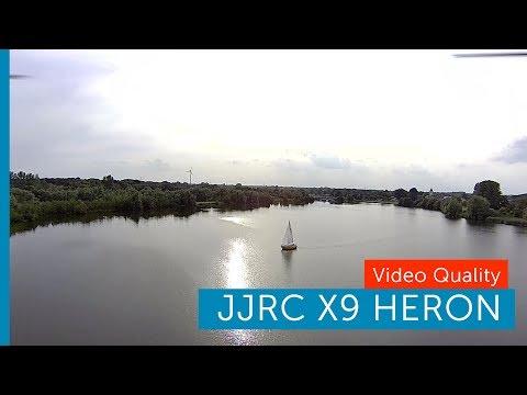 JJRC X9 Heron Footage Quality