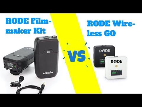 Rode Wireless Go vs Rode Filmmaker Kit - welches Funkmikrofon ist besser?